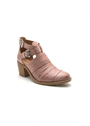 The Mika Bootie in Blush - MOB Fashion Boutique