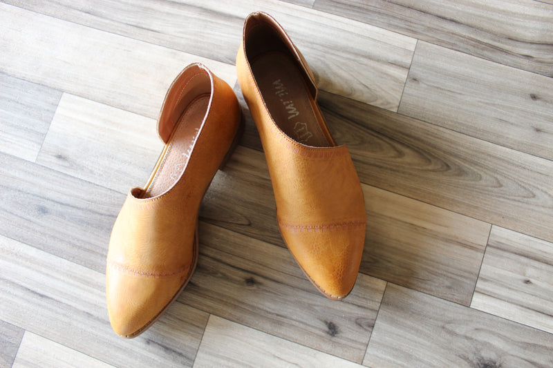 Amelia Booties in Toffee - MOB Fashion Boutique