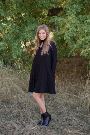 Reese Little Black Dress - MOB Fashion Boutique