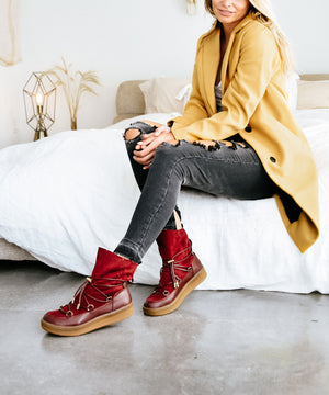 Winter Wonderland Booties (2 Colors!) - MOB Fashion Boutique
