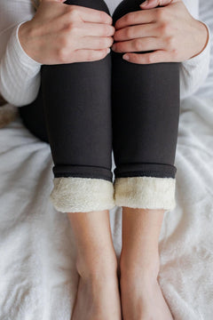 Thick Sherpa Lined Leggings