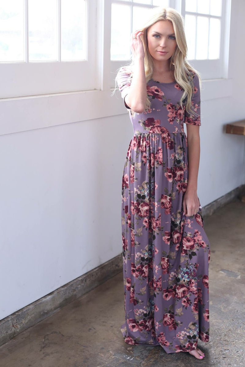 Miranda Maxi | Lilac - MOB Fashion Boutique