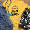 You are my Sunshine Graphic Tee - MOB Fashion Boutique