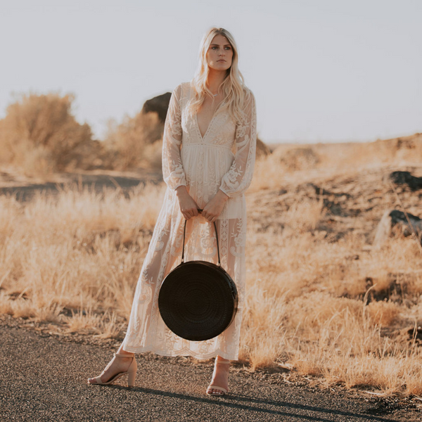 The Desert Lace Maxi Dress