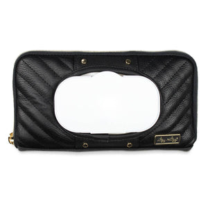 NEW Jetsetter Black Travel Wipes Case