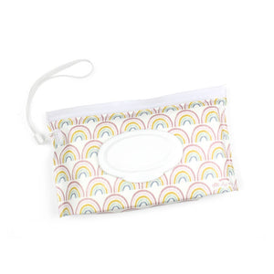 Rainbow Take and Travel™ Pouch Reusable Wipes Case