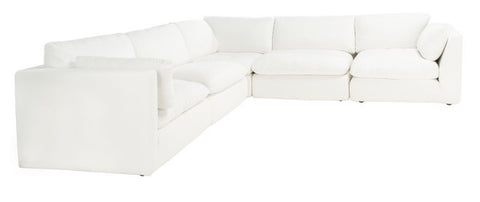 Agnes Linen Sectional Sofa