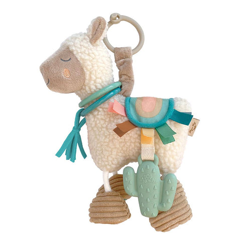 NEW Link & Love™ Llama Activity Plush Silicone Teether Toy
