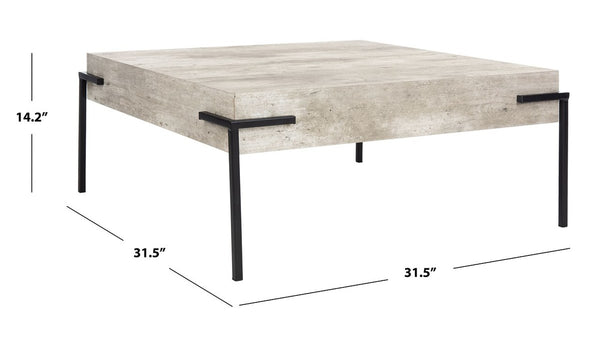 Eli Square Coffee Table