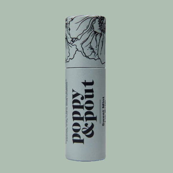 Sweet Mint Lip Balm, Flower Powered Lip Care