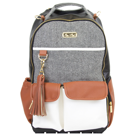 Coffee & Cream Boss Backpack™ Diaper Bag