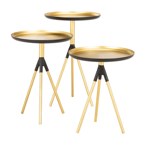 Talon Metal Side Table  (Set Of 3)