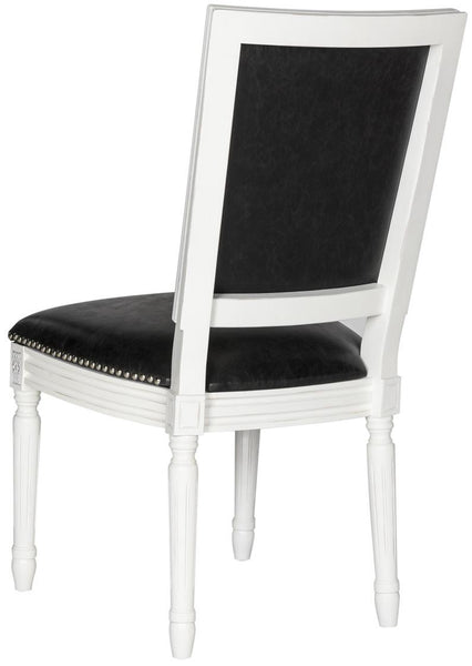 Buchanan French Brasserie Leather Side Chair - Set of 2