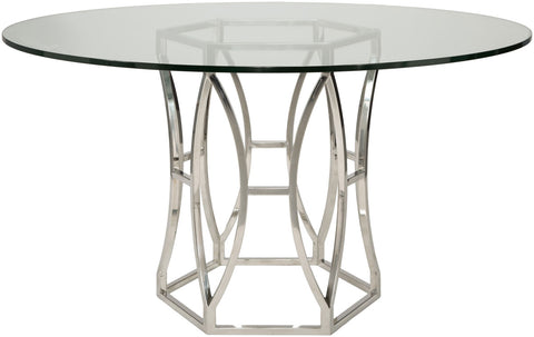 Shaw Glass Top Dining Table