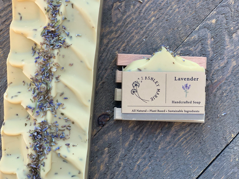 The Lavender Ashley Marie Handmade Soap