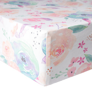 Copper Pearl - Bloom Premium Crib Sheet