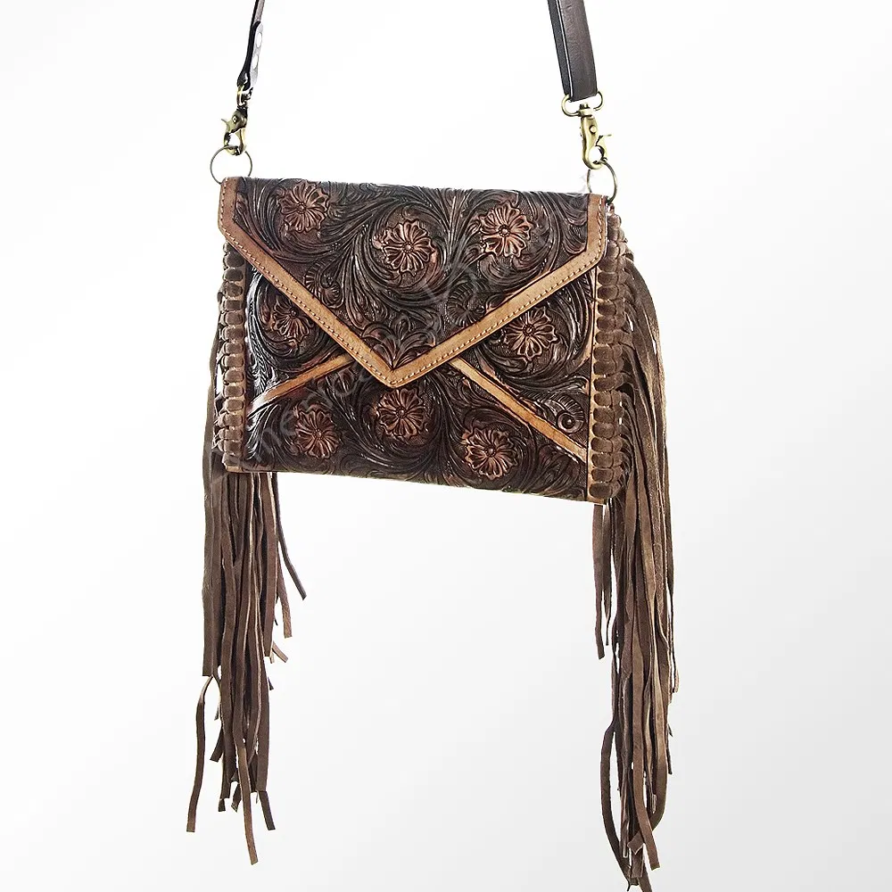 The Bonnie Full-Tooled Crossbody