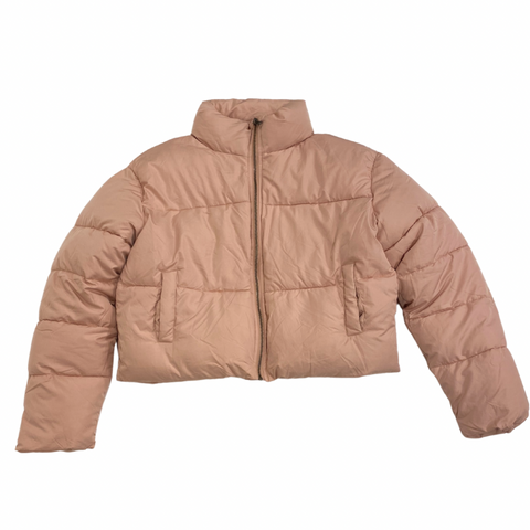 Puff Jacket-Misty Rose