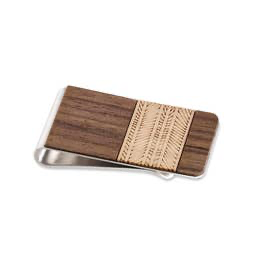 Lines Money Clip (Handmade)