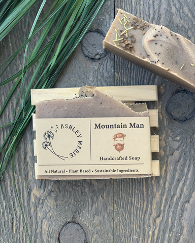 The Mountain Man Ashley Marie Handmade Soap