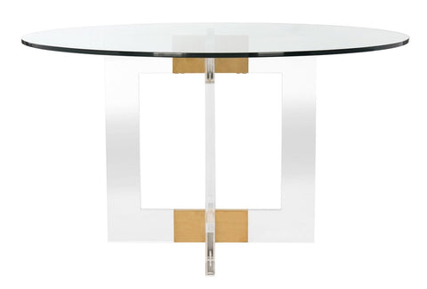 Xevera Acrylic Dining Table