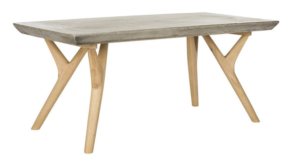 Pacey Indoor/Outdoor Modern ConcreteCoffee Table
