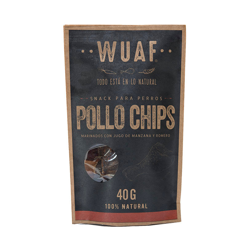 Pollo Chips 40 grs.