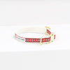 Collar Chef L'Bark Rojo/Beige