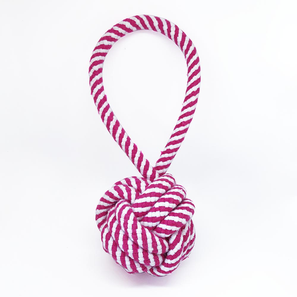 Pelota Cotton Rope Fucsia
