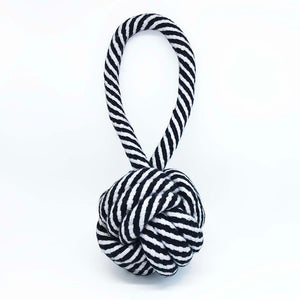 Pelota Cotton Rope Negra