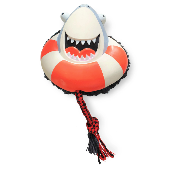 Frenzy the Shark - Juguete de cuerda con sonajero