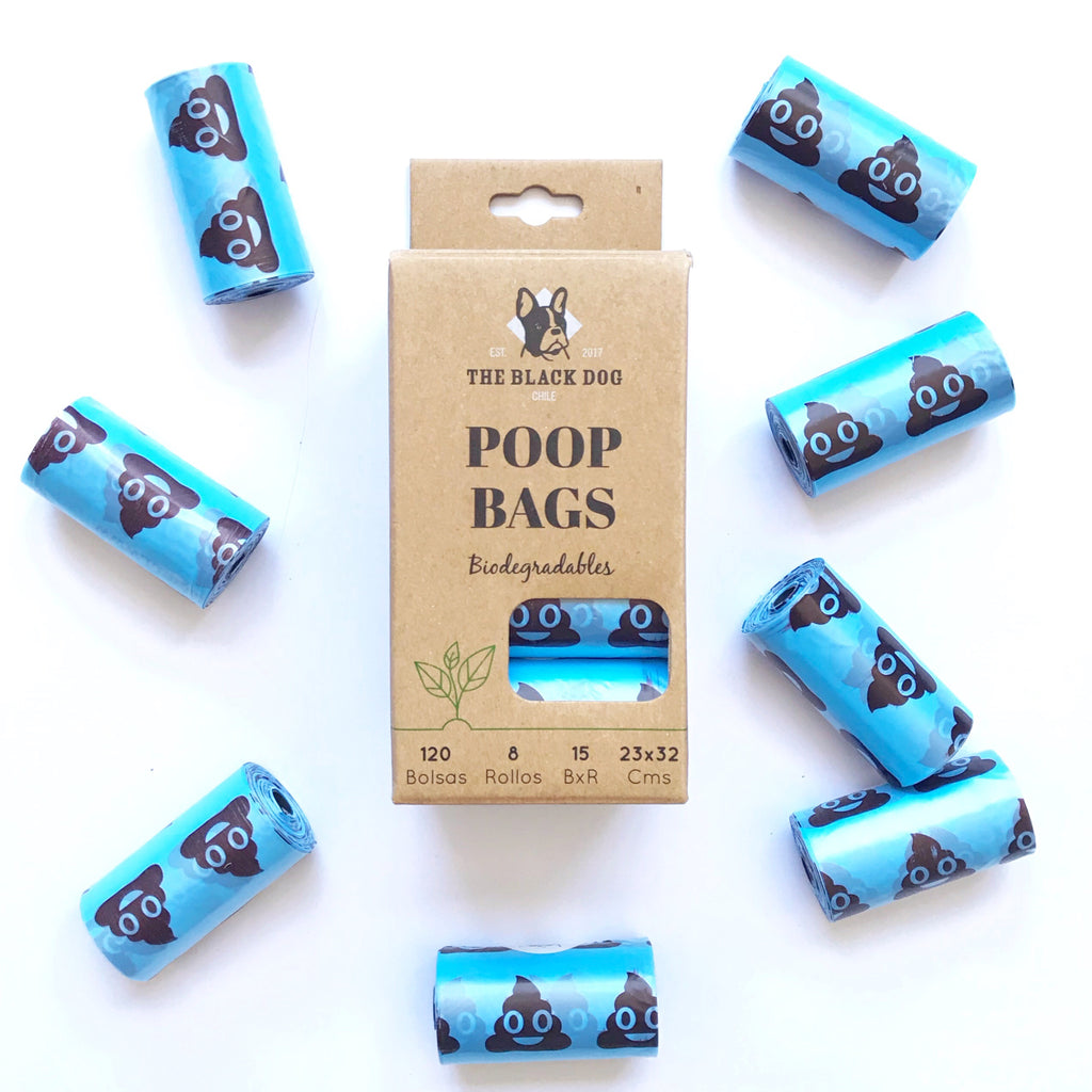 Pack 8 Rollos Bolsas Biodegradables