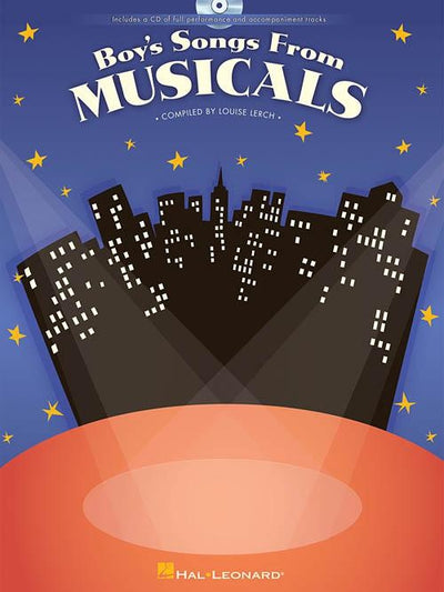 Boy's Songs from Musicals with CD