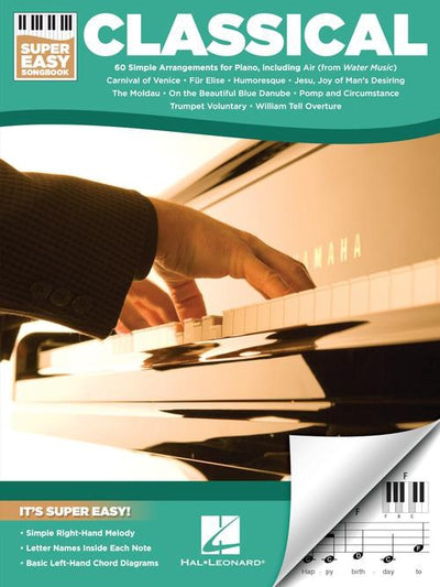 Classical Super Easy Songbook (60 Songs)