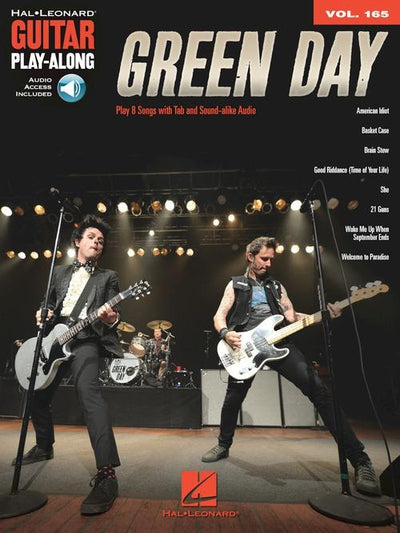 Green Day Guitar Play-Along Volume 165