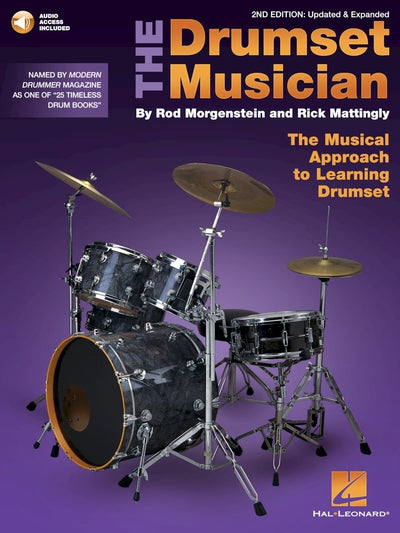 Drmins Drumset Musician 2nd Book/Audio