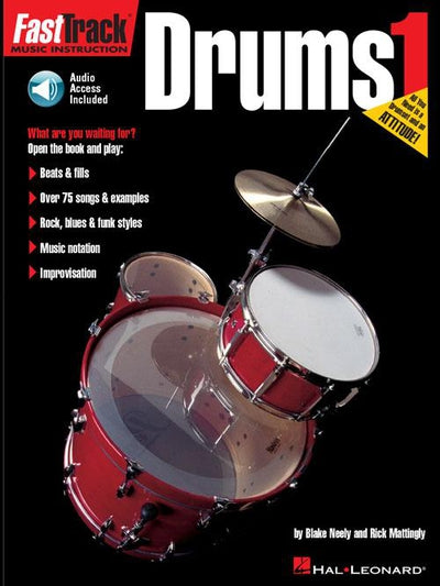 FastTrack Drums Method – Book 1 with Audio