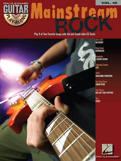Mainstream Rock Guitar Play-Along Volume 46