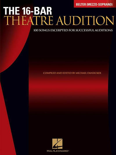The 16-Bar Theatre Audition for Belter (Mezzo-Soprano)