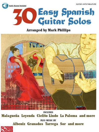 30 Easy Spanish Guitar Solos with CD