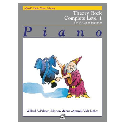 Alfred's Basic Piano Theory Book Complete Level 1