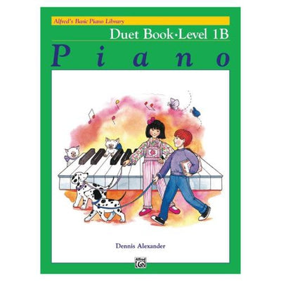 Alfred's Basic Piano Duet Book Level 1B