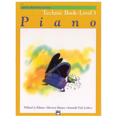 Alfred's Basic Piano Technic Book Level 3