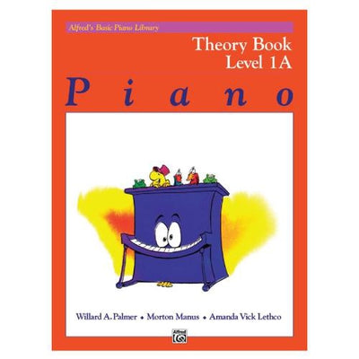Alfred's Basic Piano Course Theory Level 1A