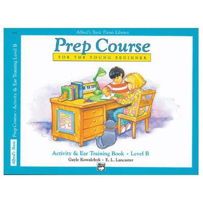 Alfred's Prep Course Activity and Ear Training Book Level B