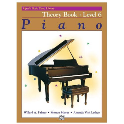 Alfred's Basic Piano Theory Book 6