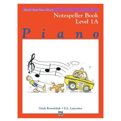 Alfred's Basic Piano Library Notespeller Book Level 1A