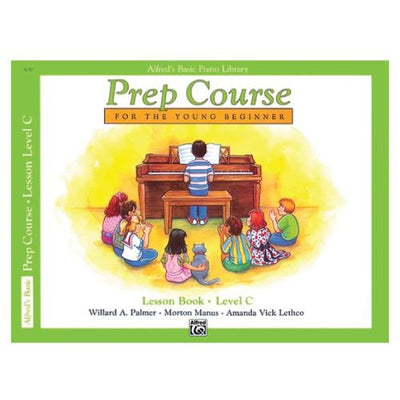 Alfred's Prep Course Lesson Book Level C