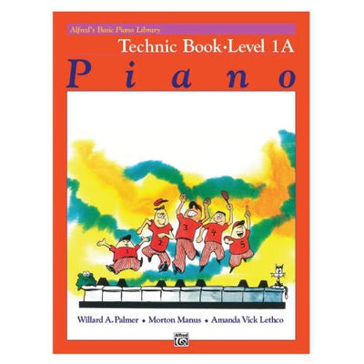 Alfred's Basic Piano Library Technic Book Level 1A