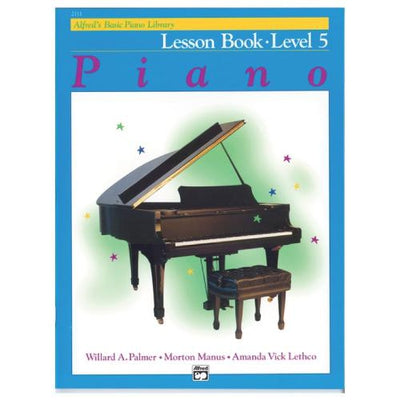 Alfred's Basic Piano Lesson Book 5